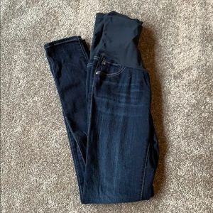 AG stretch maternity jeans